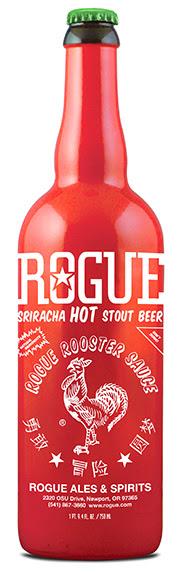 Rogue Sriracha Stout Bottle (image courtesy of Rogue Ales)