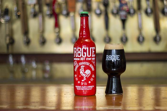 Rogue Sriracha Stout (image courtesy of Rogue Ales)