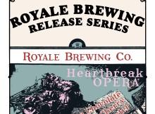 Royale Brewing Heartbreak Opera Release at Beech Street Parlor