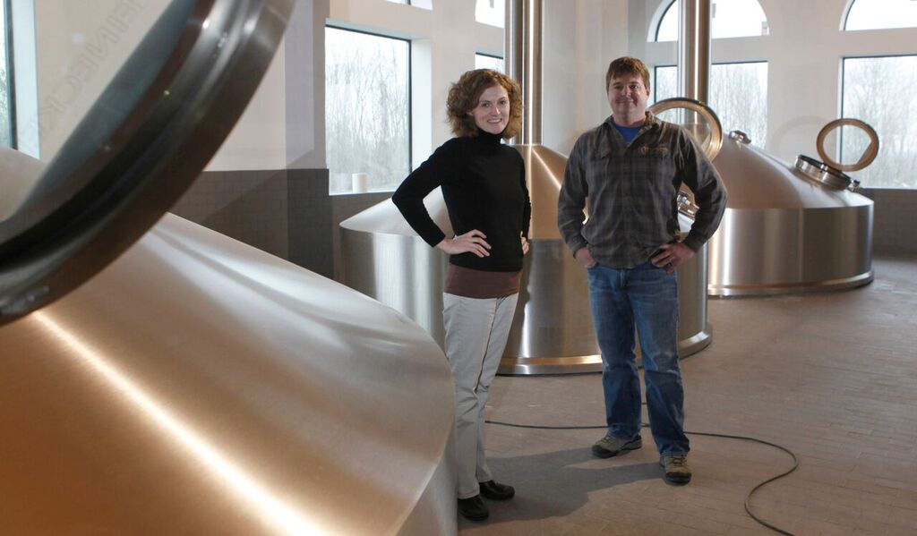 Sara & Phin DeMink of Southern Tier (image courtesy of Victory Brewing)