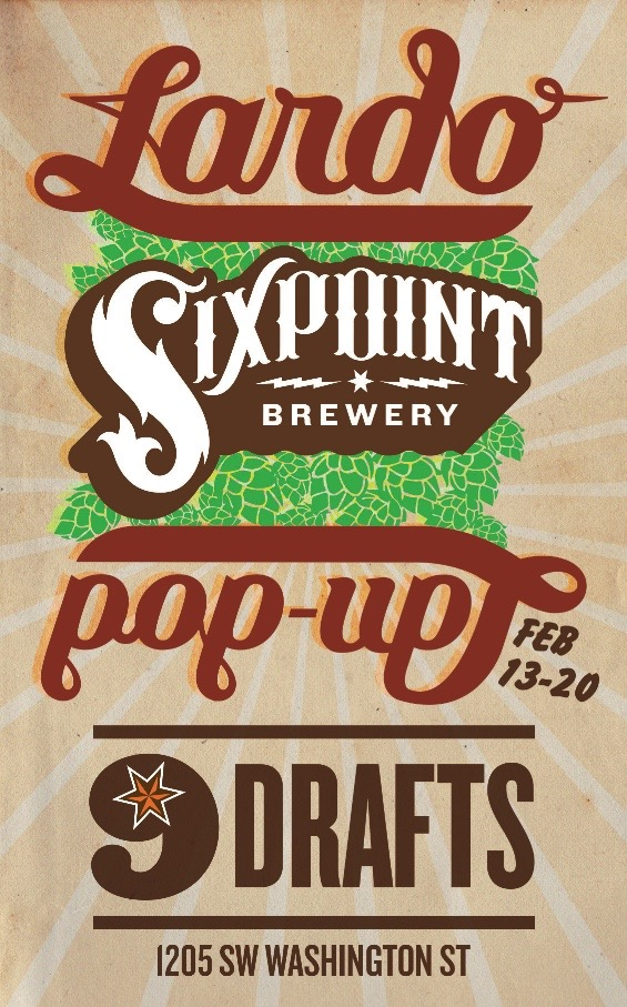 Sixpoint Brewery Lardo West Pop-Up Pub