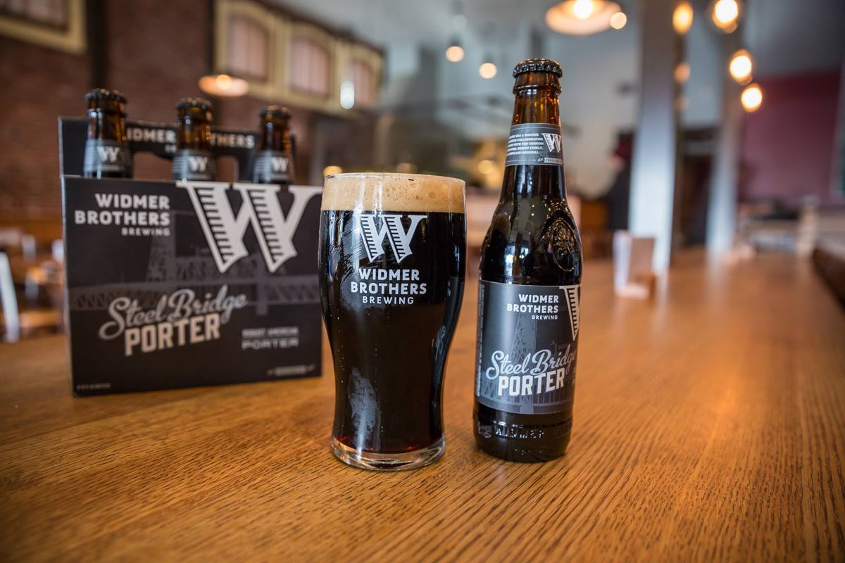 Widmer Steel Bridge Porter 6 Pack (image courtesy of Widmer Brothers Brewing)