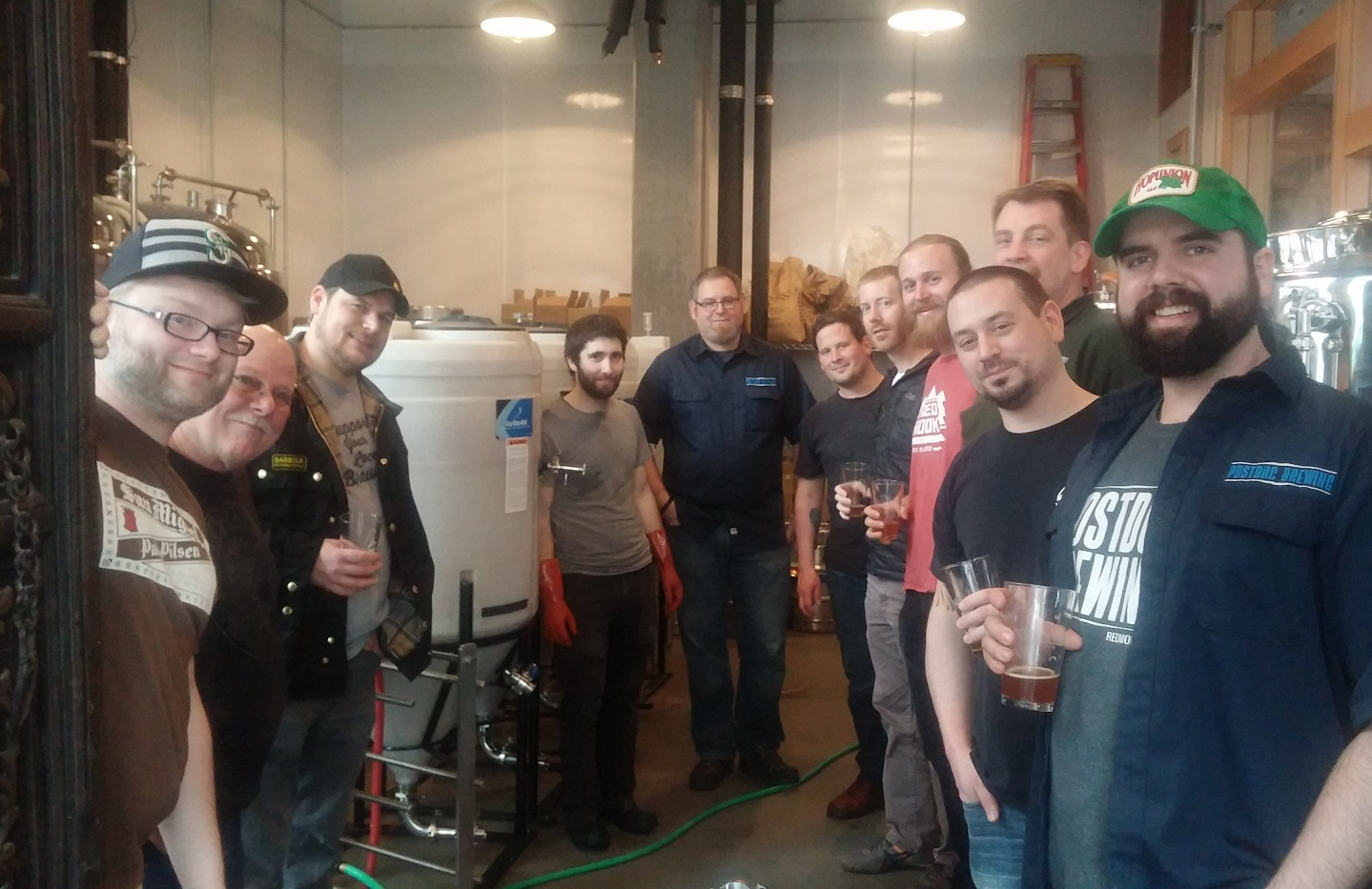 2016 Herbert's Brew Crew on Feb 11, 2016 (image courtesy of Washing Brewers Guild)