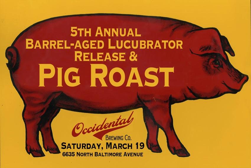 2016 Occidental Pig Roast Poster