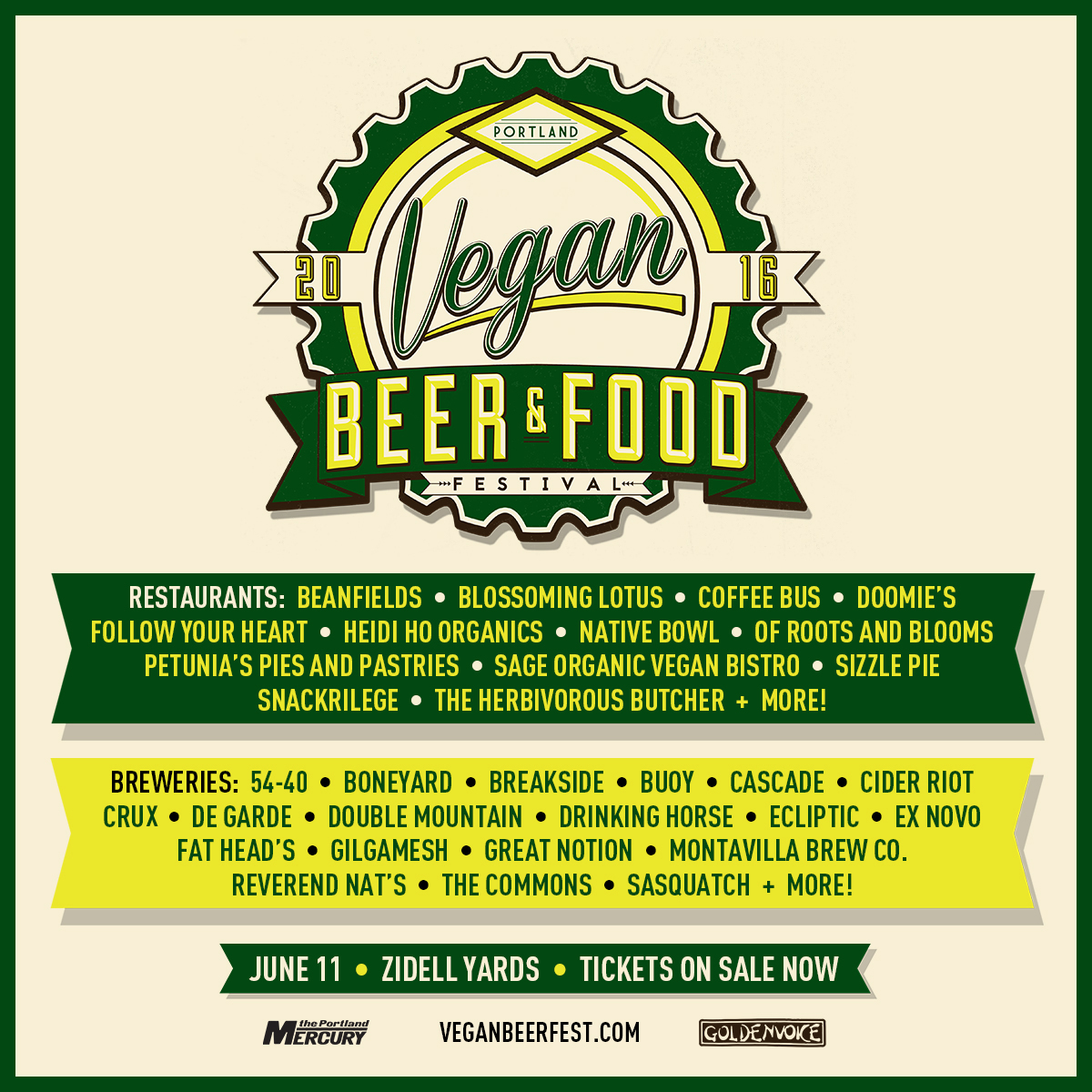 2016 Portland Vegan Beer & Food Festival