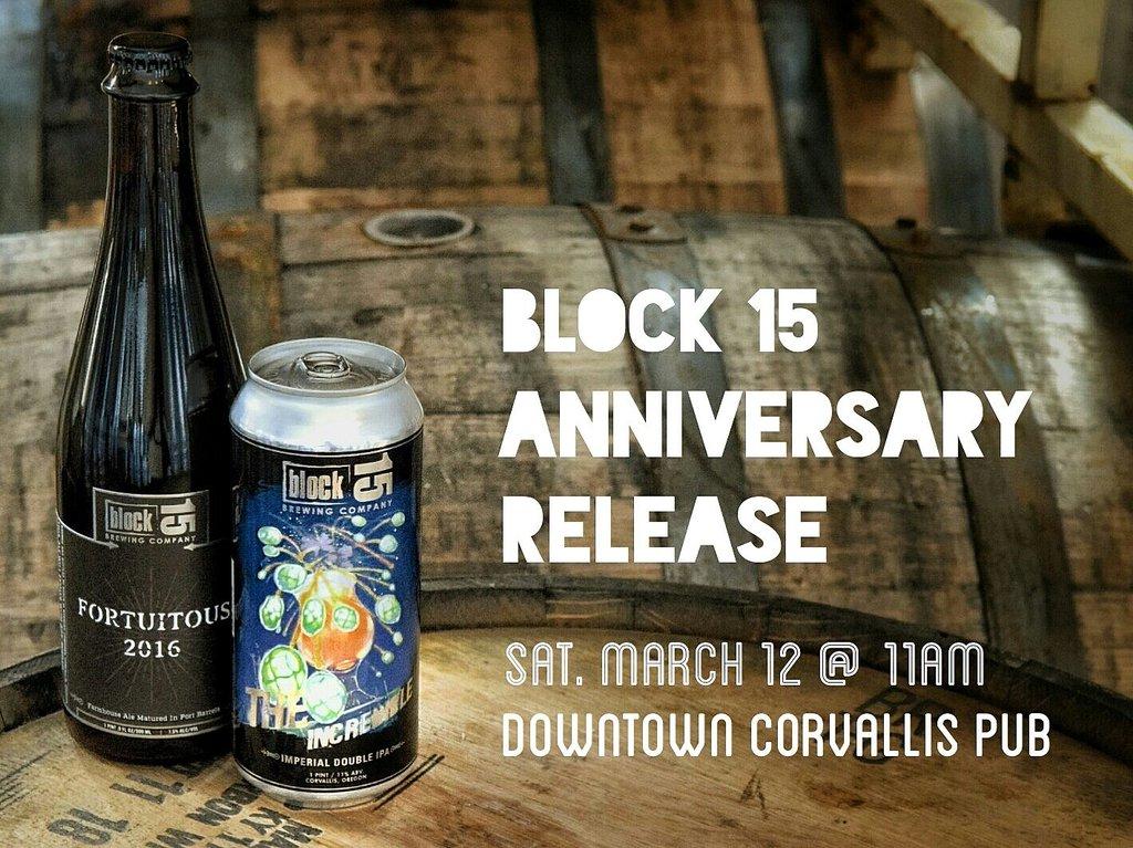 Block 15 Anniversary Release