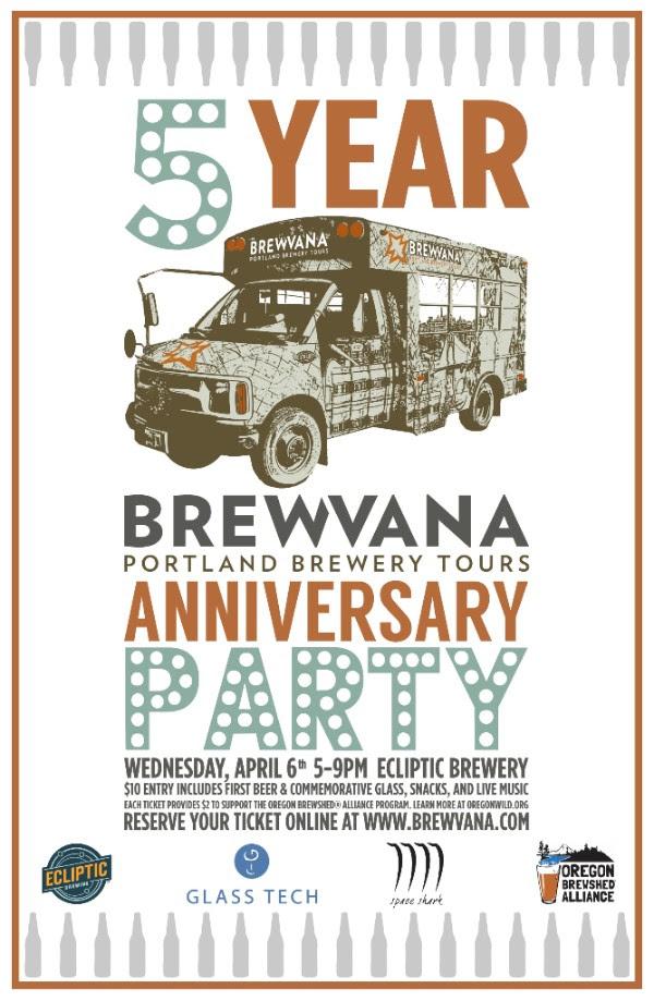 Brewvana 5th Anniversary Party