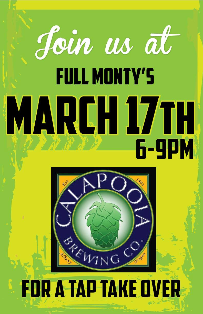 Calapooia Brewing Company‎ St. Patrick's Day Tap Battle with Ordnance Brewing