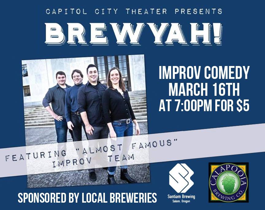 Capitol City Theater Brew Yah!