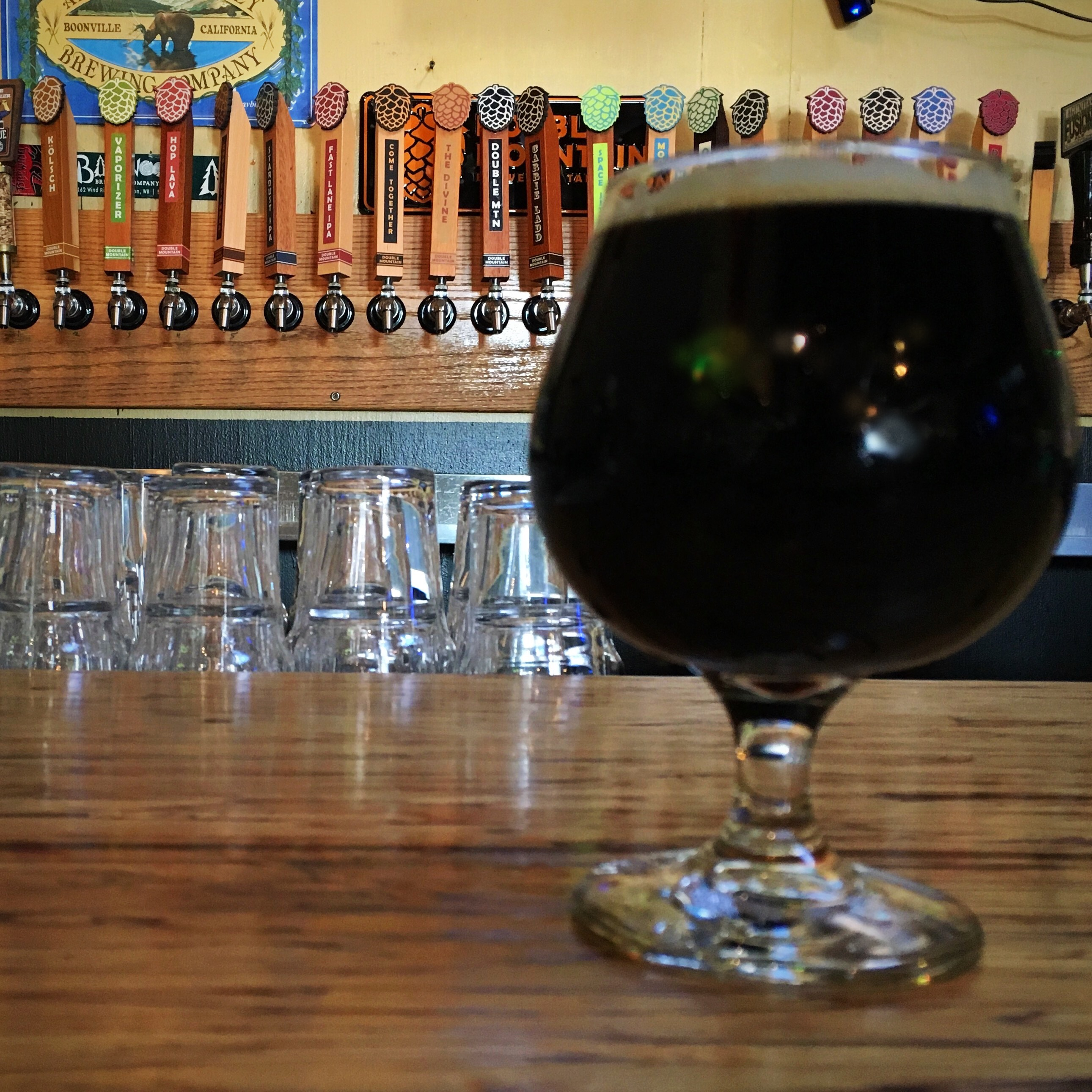 Double Mountain The Divine Ninth Anniversary Bourbon Barrel Aged Brown at Green Dragon.