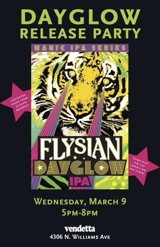 Elysian Dayglow Portland Release Party