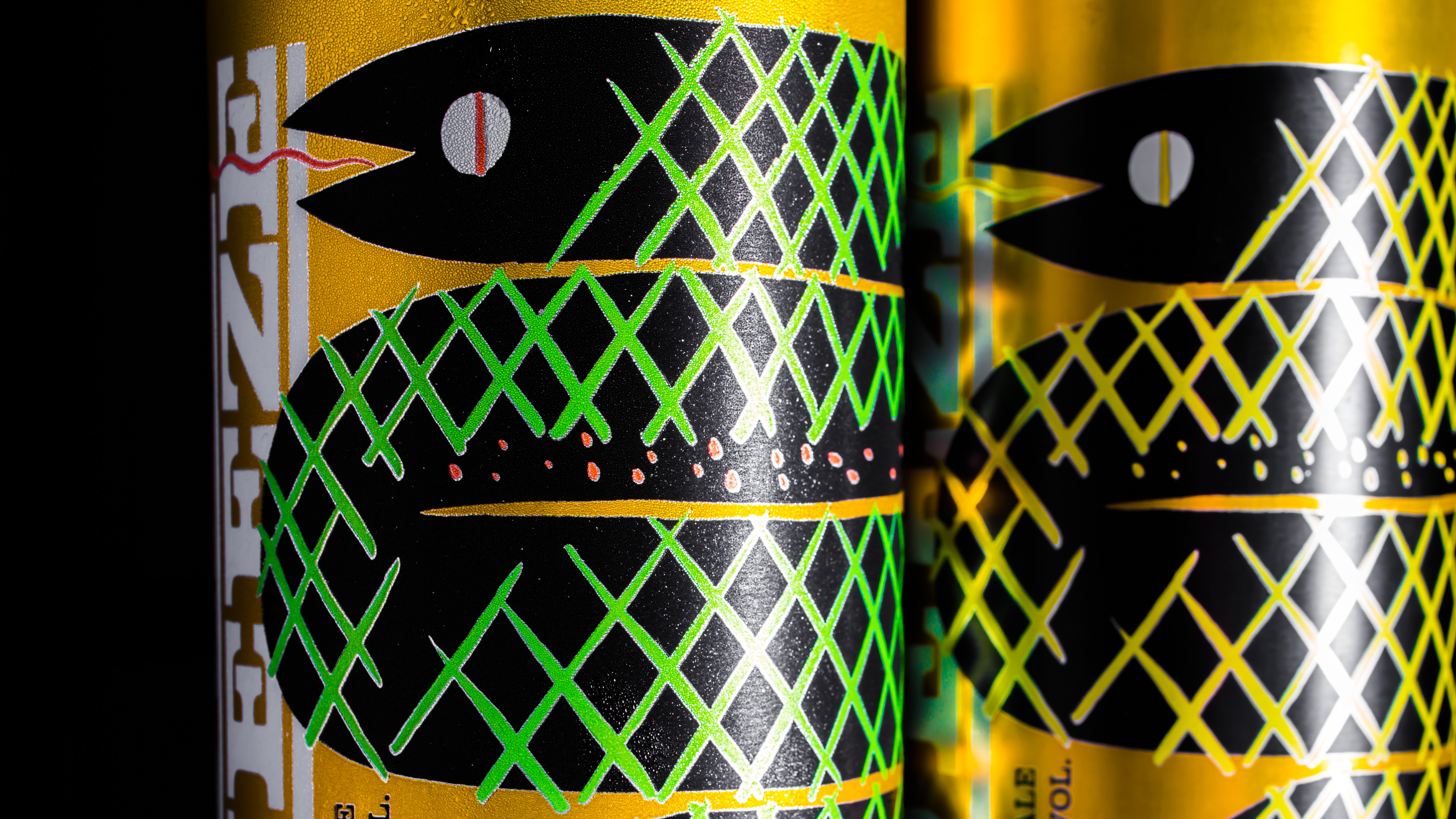 Fort George Suicide Squeeze IPA changing color 16 oz can. (image courtesy of Fort Georg Brewery)