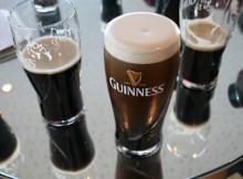Guinness for many inside the Gravity Bar.