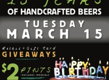 Laurelwood Brewing 15th Anniversary