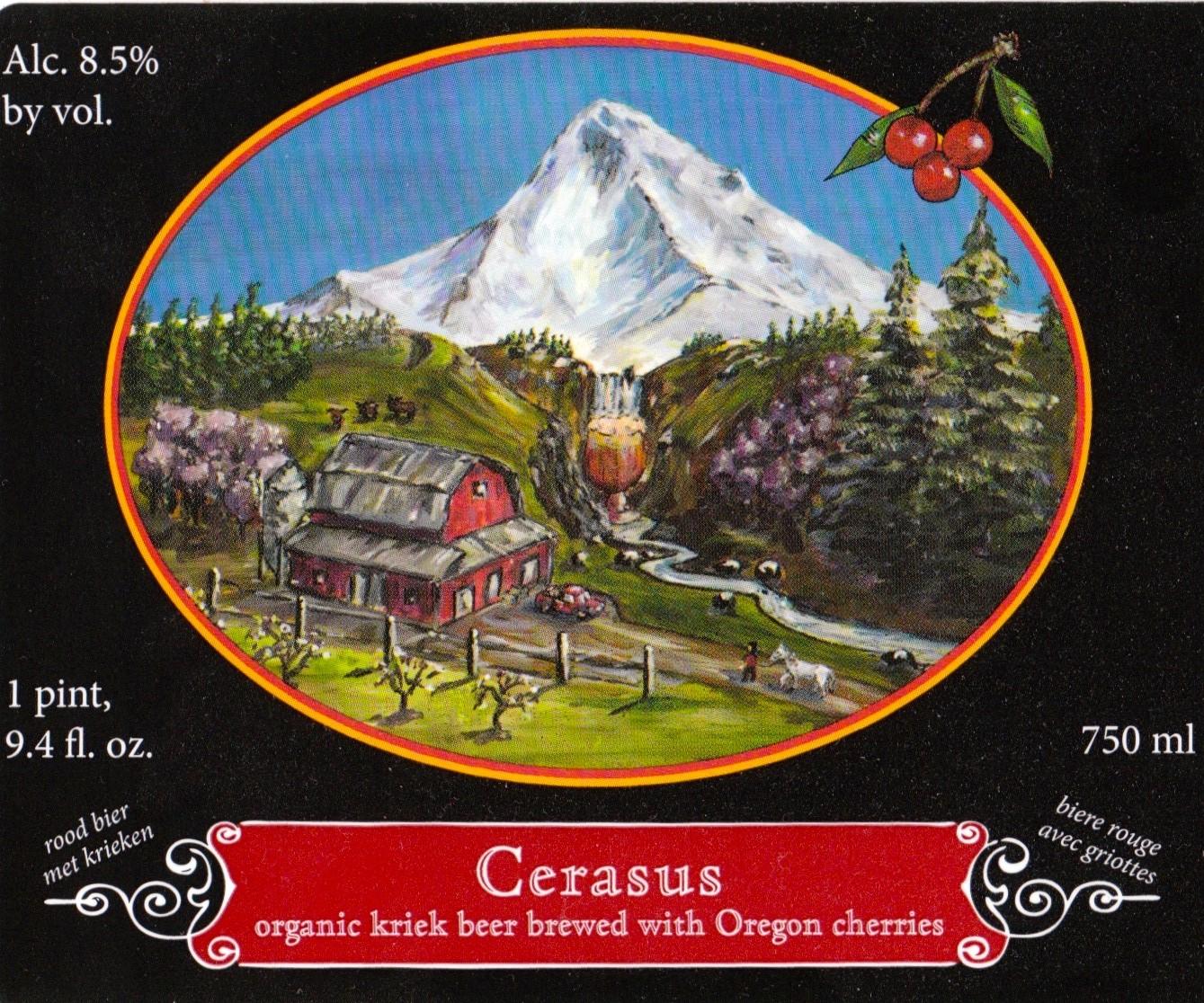 Logsdon Farmhouse Ales Cerasus Bottle Release