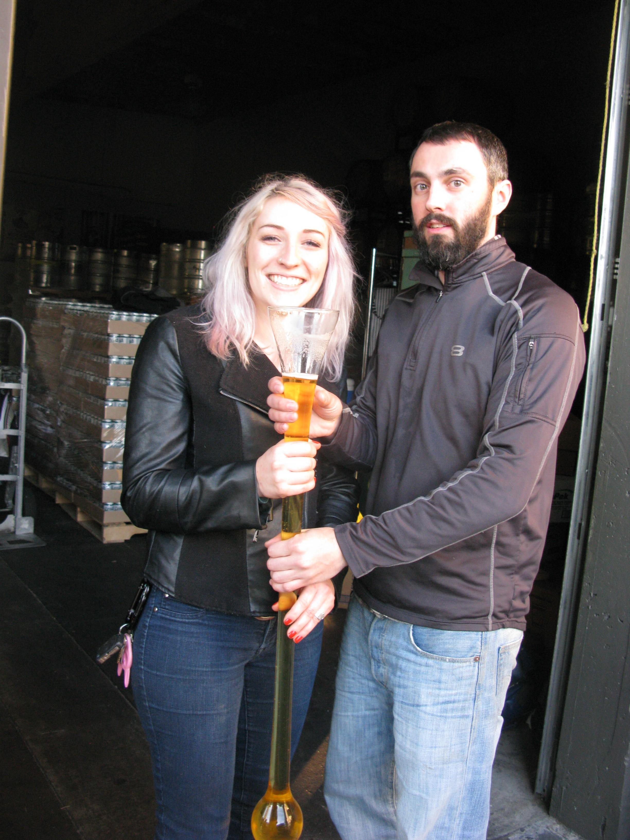 Natalie Baldwin and Sam Pecoraro (FoystonFoto)