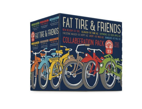 "New Belgium Brewing Collaborative Fat Tire ""Riff-Pack"""