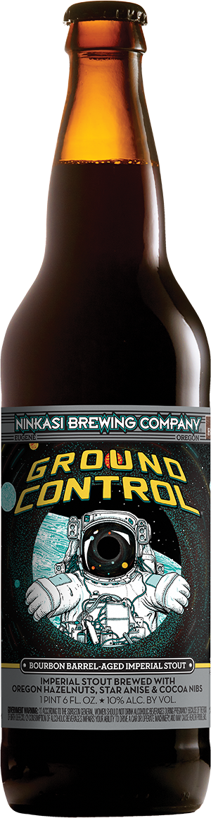 Ninkasi 22oz Bottle GroundControl 2016