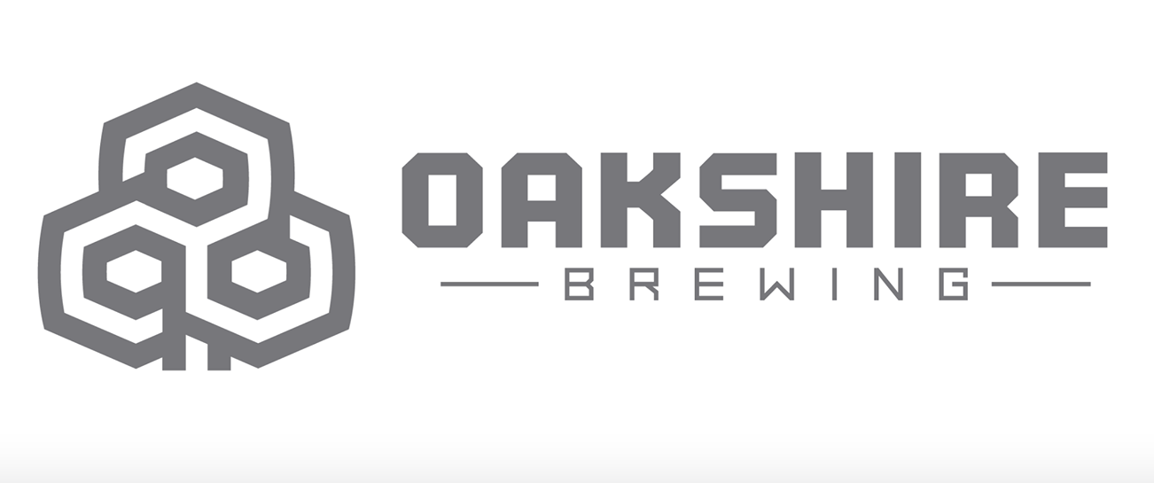 Oakshire Brewing has ditched its old tree logo for this new, revised logo.