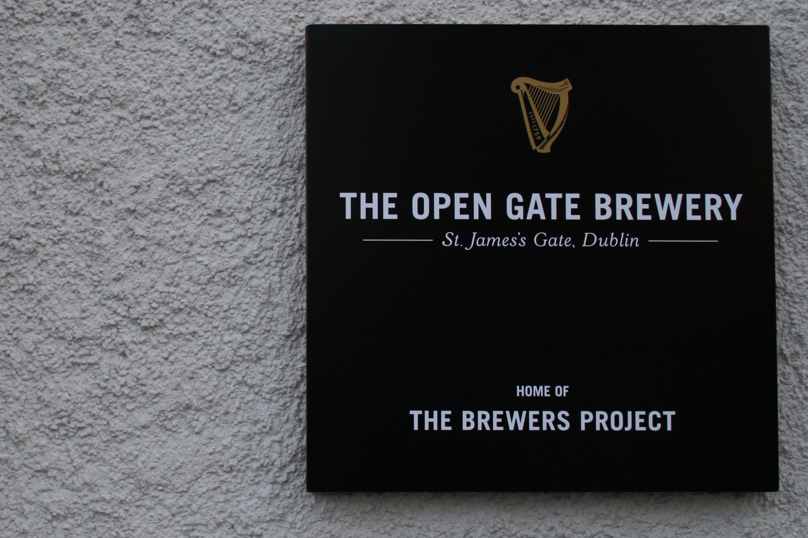 The Open Gate Brewery, Home of The Brewers Project from Guinness.