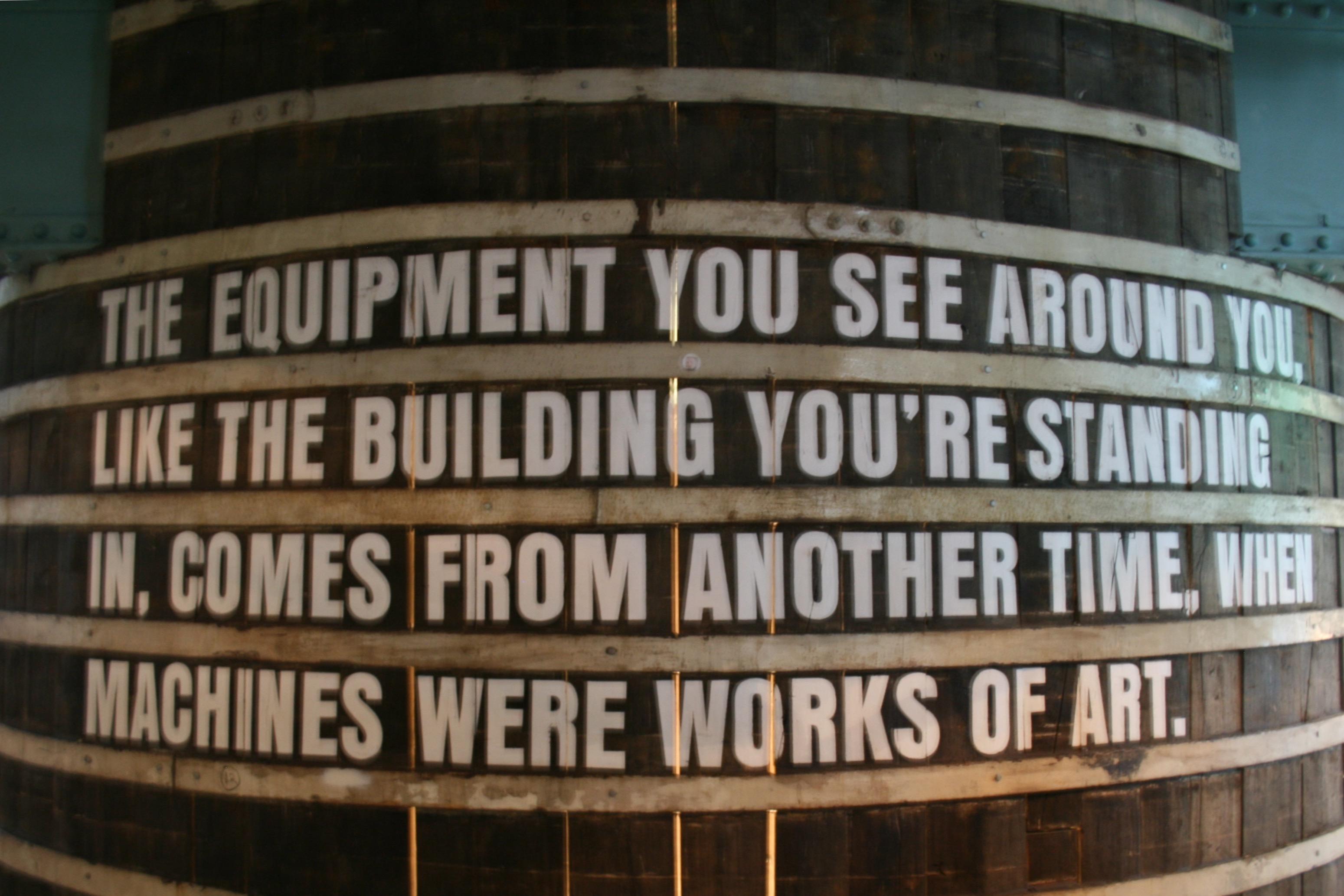 Used tanks inside the Guinness Storehouse.