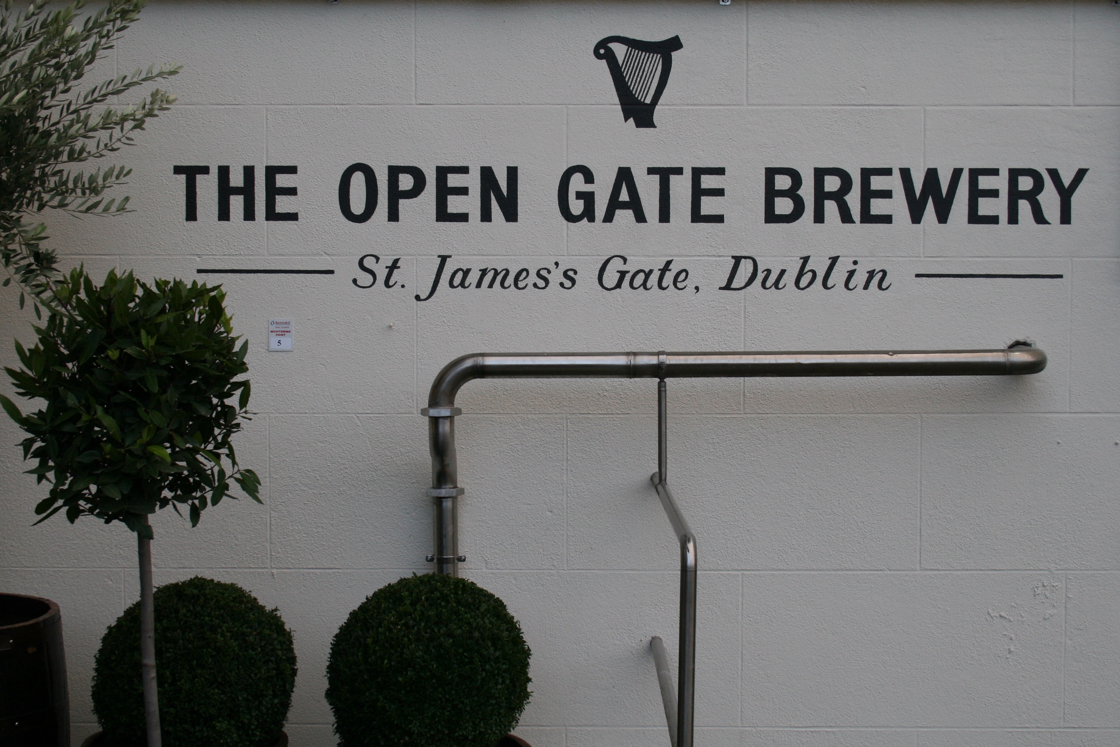Welcome to The Open Gate Brewery - St. James's Gate at Guinness.