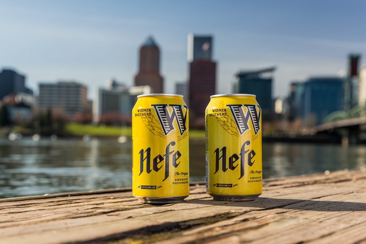 Widmer Brothers Brewing Hefe Cans (image courtesy of Widmer Brothers Brewing)