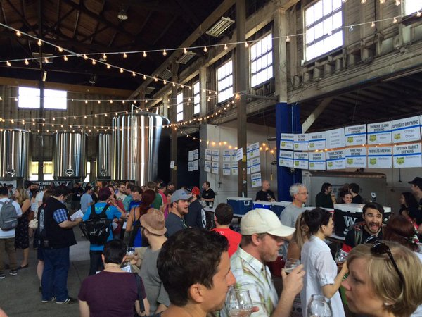 Attendees at the 2015 Cheers To Belgian Beers.