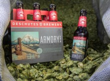 Deschutes Brewery Armory XPA Experimental Pale Ale now in 6 Packs. (image courtesy of Deschutes Brewery)
