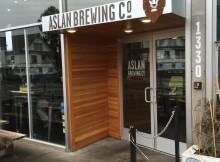 Entrance to Aslan Brewing.