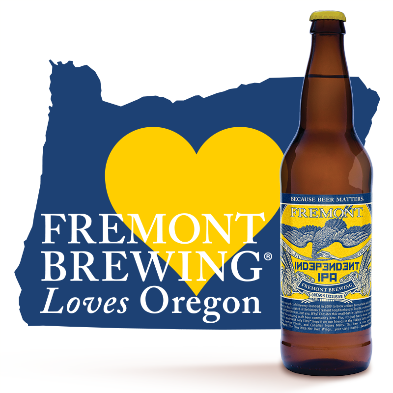 Fremont Brewing Loves Oregon