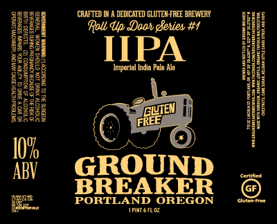 Ground Breaker Roll Up Door Series #1 IIPA Label