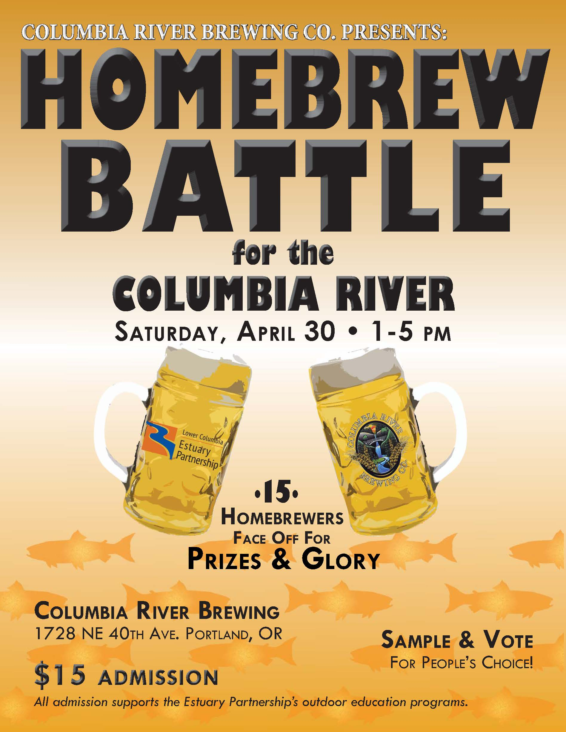 Homebrew Battle for the Columbia River Flyer 4.30.2016