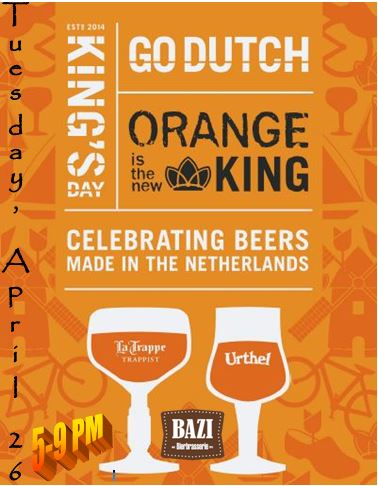 Kings Day Poster 2016