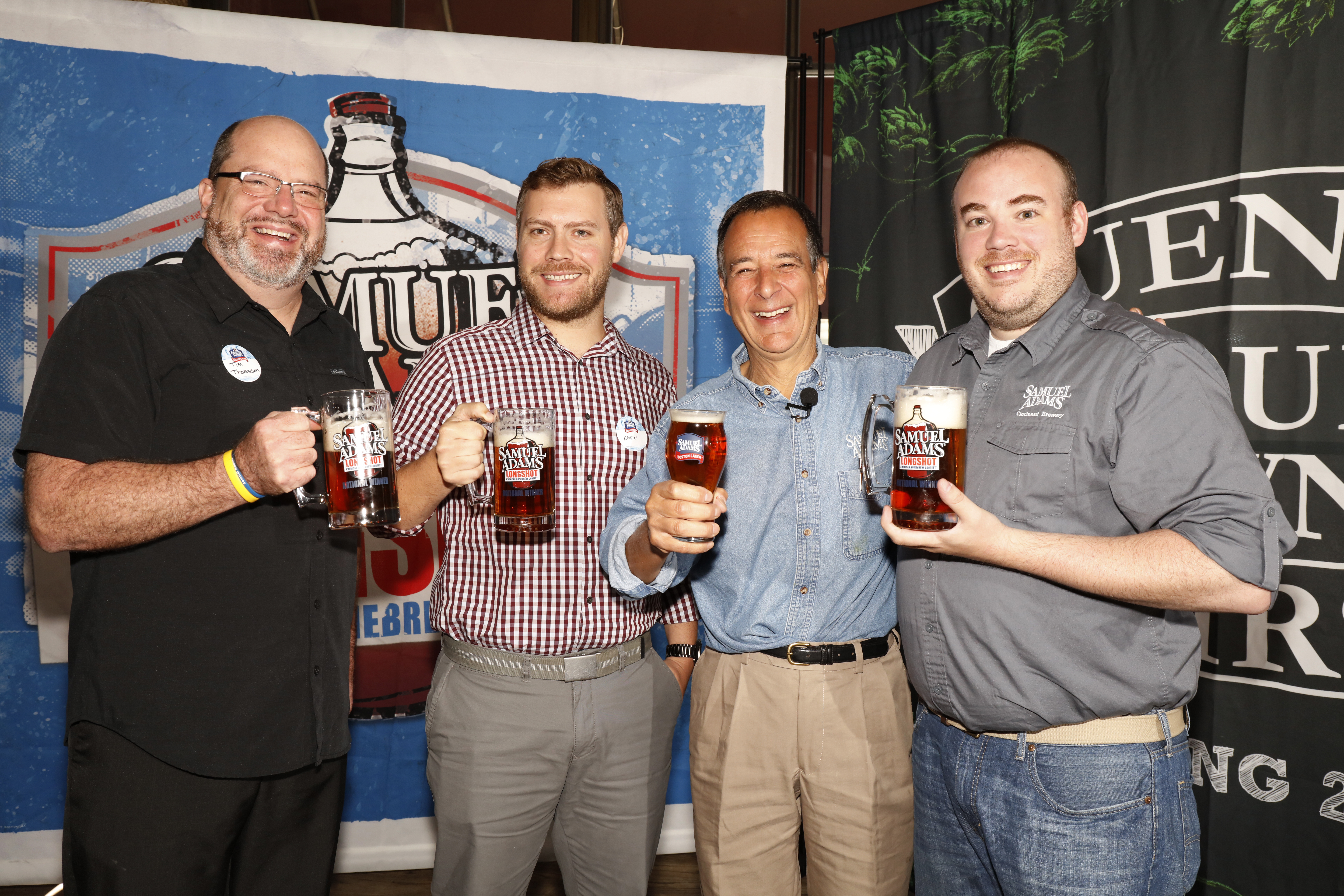 Samuel Adams 2015 Longshot competition Friday, Sept. 25, 2015, in Denver. (Photo by Jack Dempsey/ for Boston Beer Company)