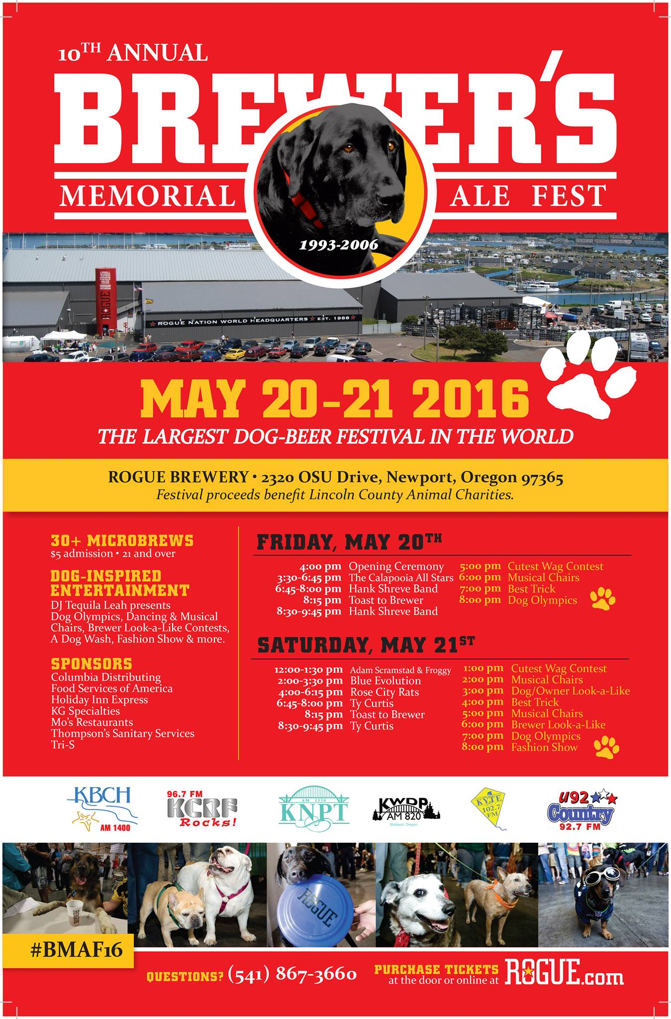 10th Annual Brewer's Memorial Ale Fest - 2016.png