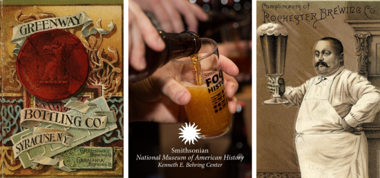 American Brewing History at the National Museum of American History. (image courtesy of Smithsonian)