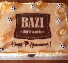 Bazi Bierbrasserie 4th Anniversary Cake from 2015. (photo by Cat Stelzer)