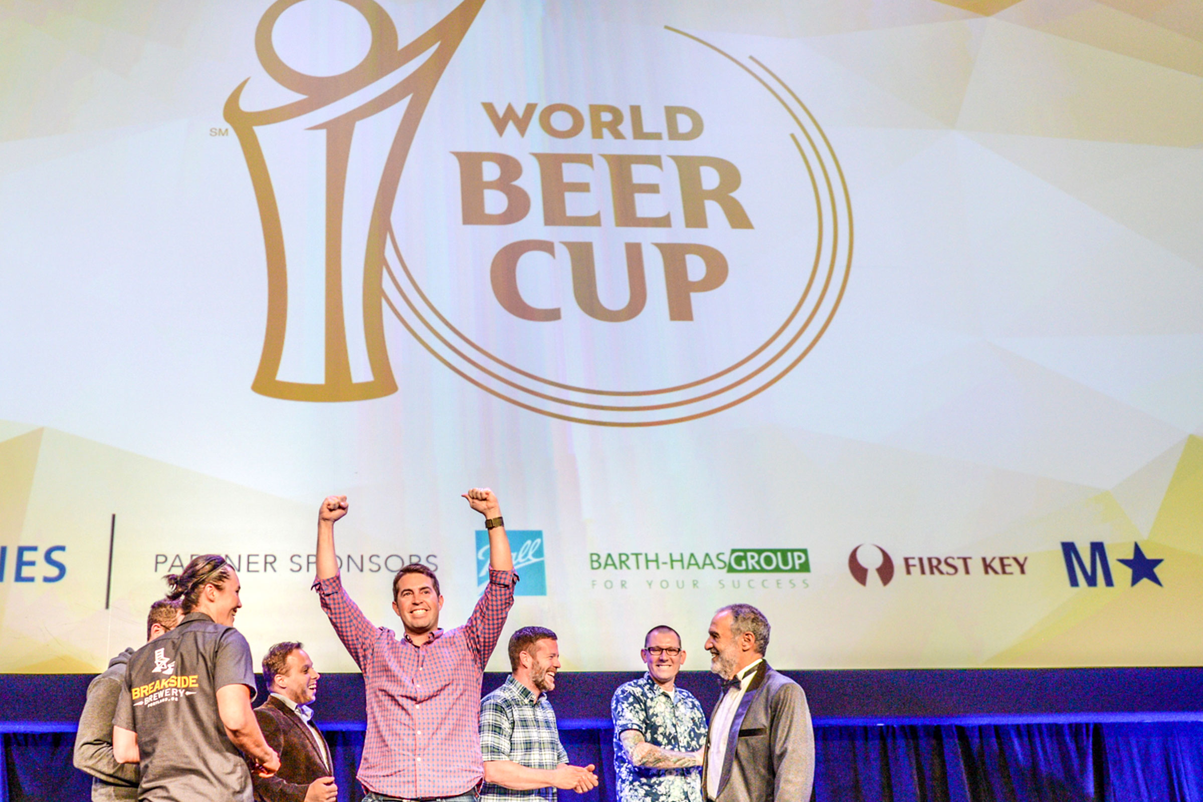 Breakside Brewery Winning one of four medals at the 2016 World Beer Cup. (Photos © Brewers Association)