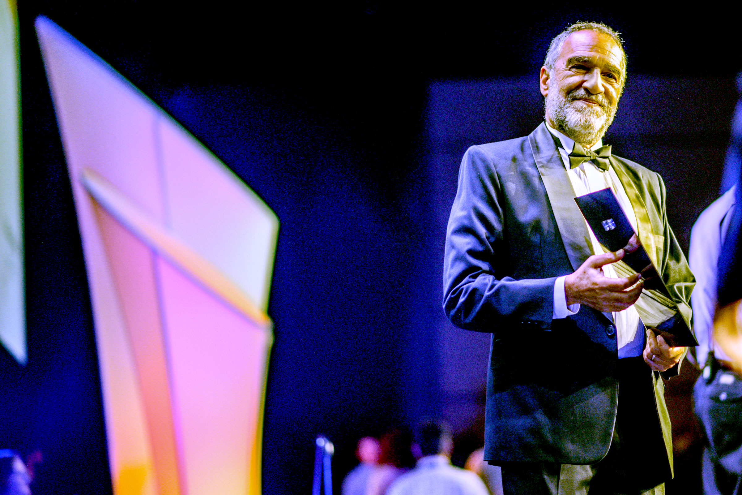 Charlie Papazian at the 2016 World Beer Cup. (Photos © Brewers Association)