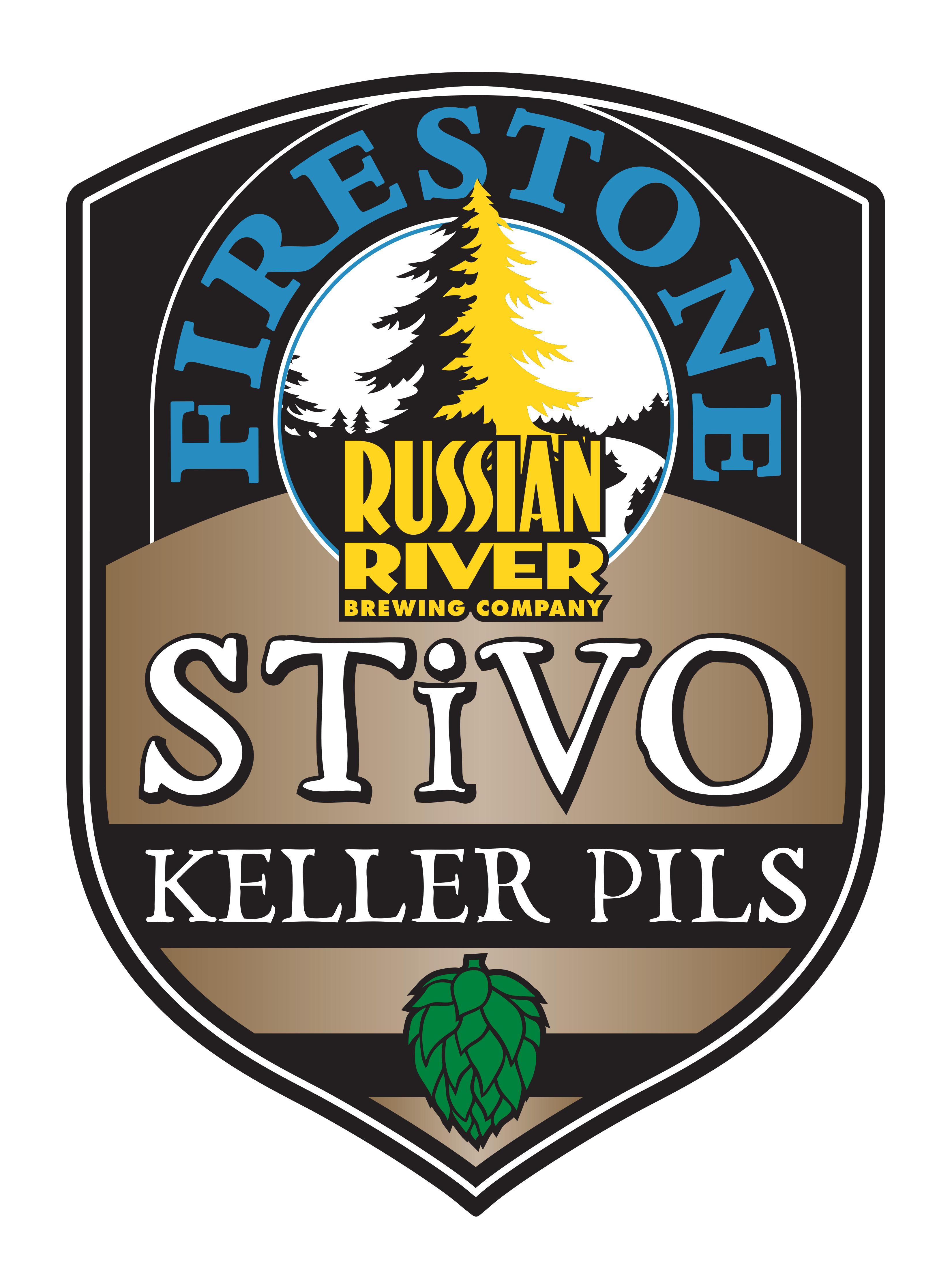 Firestone Walker & Russian River STiVO Keller Pils Label