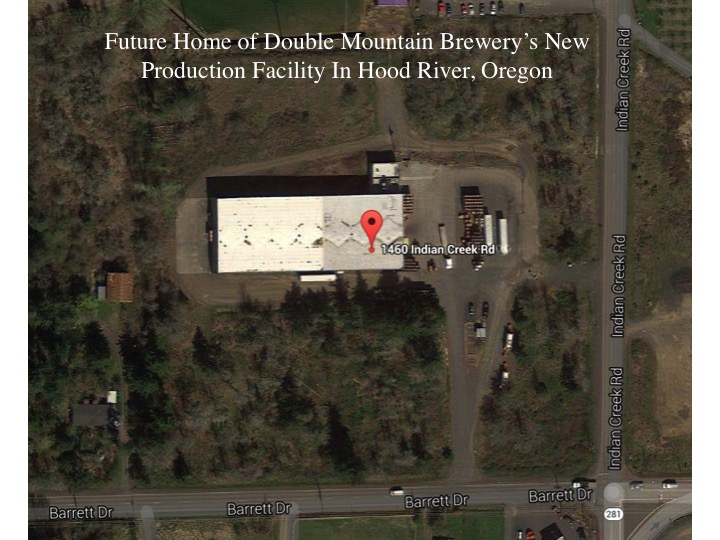 Future Home of Double Mountain Brewery's New Production Facility. (image courtesy of Google Maps)