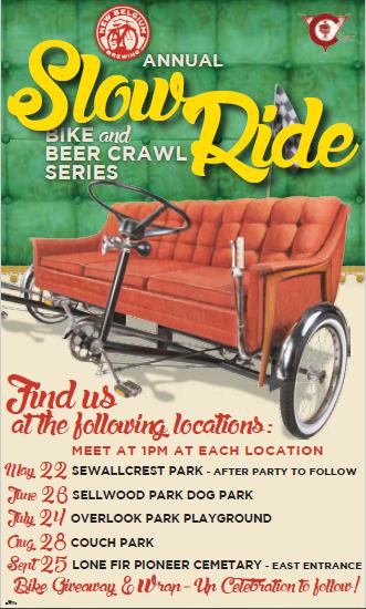 New Belgium Portland Slow Ride Series 2016