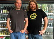 Nick Rivers and Scott Jester at BrewedOregon.