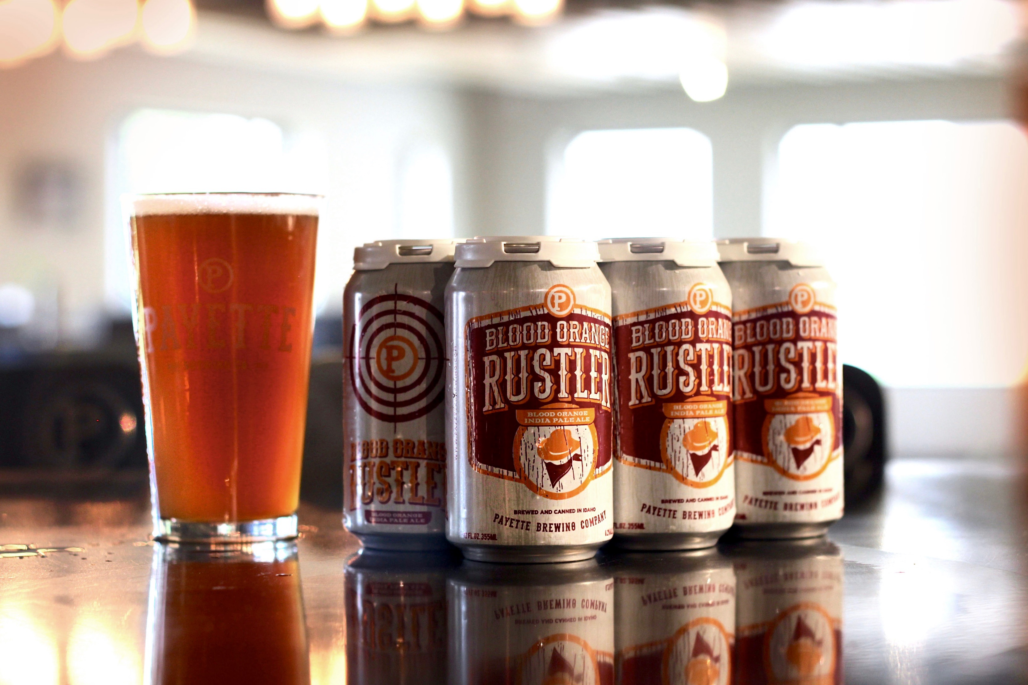 Payette Brewing Company\'s Blood Orange Rustler IPA Available Year ...