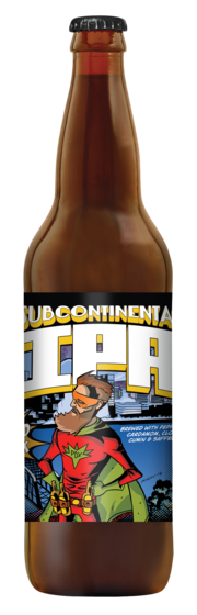 Portland Brewing and Double Mountain Brewing Subcontinental IPA