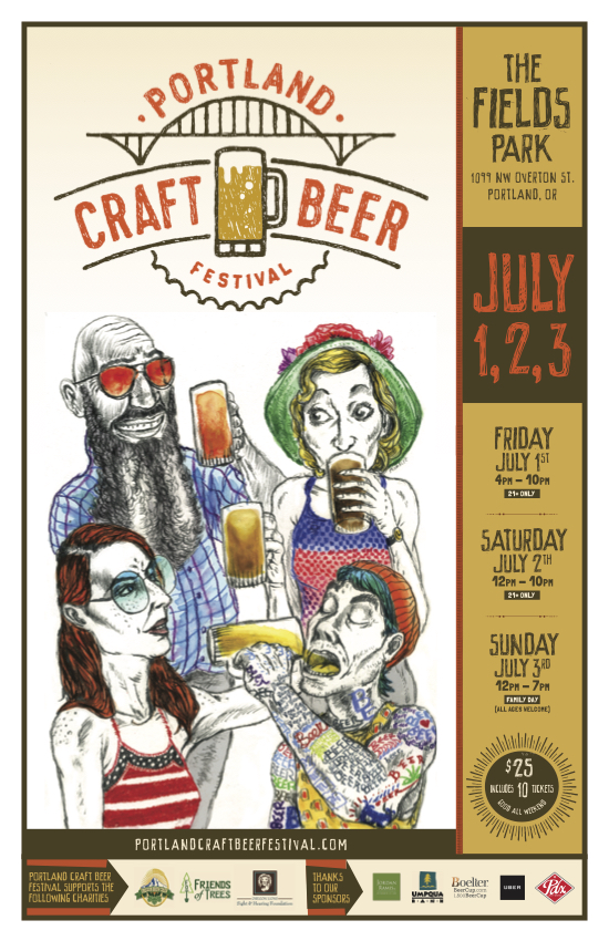 2nd Annual Portland Craft Beer Festival Returns July 1 3 2016
