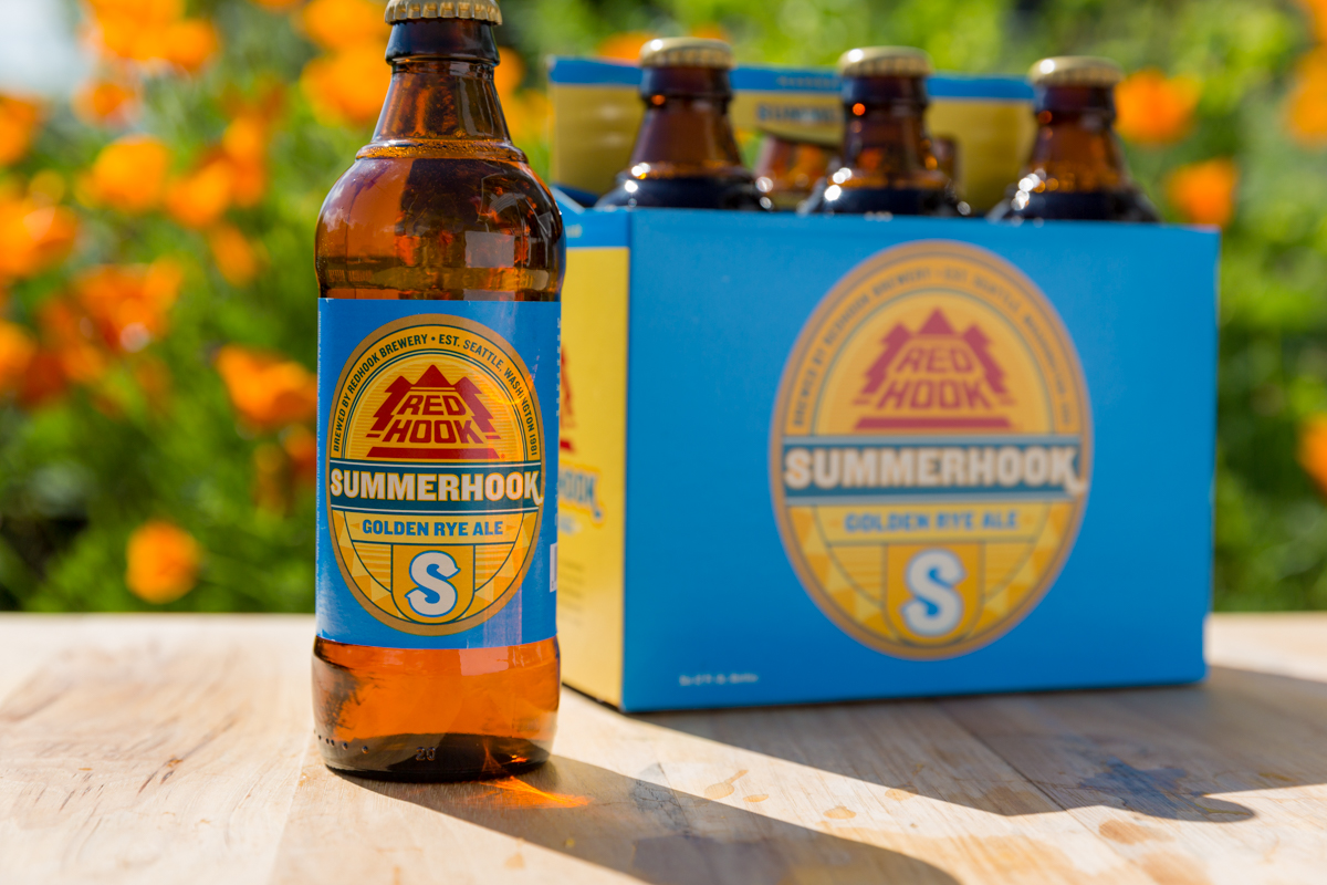Redhook Summerhook 6 Pack (image courtesy of Redhook Brewery)