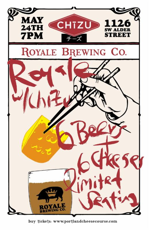 Royale Brewing at CHIZU - May 24, 2016