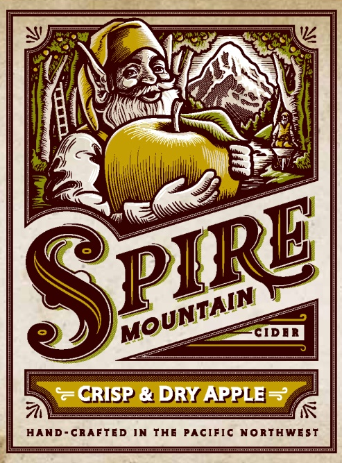 Spire Mountain Crisp & Dry Apple Cider